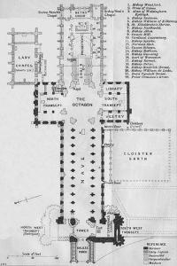 'Ely Cathedral', c20th Century by John Bartholomew
