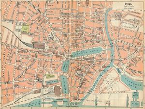 'Hull', c20th Century by John Bartholomew