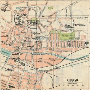 'Lincoln', c20th Century by John Bartholomew