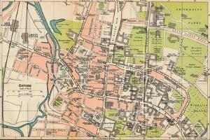 'Oxford', c20th Century by John Bartholomew