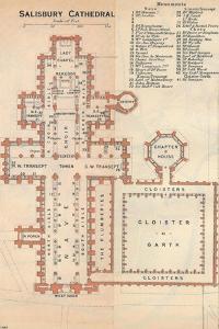 'Salisbury Cathedral', c20th Century by John Bartholomew