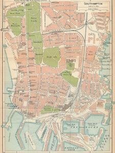 'Southampton', c20th Century by John Bartholomew