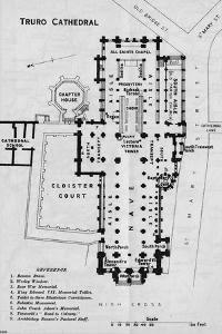 'Truro Cathedral', c20th Century by John Bartholomew