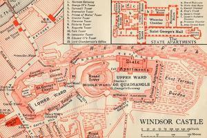 'Windsor Castle', c20th Century by John Bartholomew