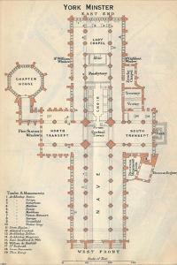 'York Minster', c20th Century by John Bartholomew