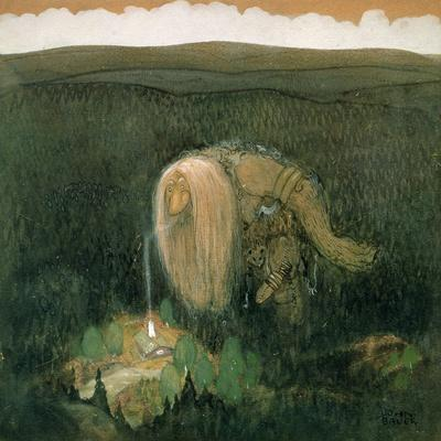 A Forest Troll, c.1913