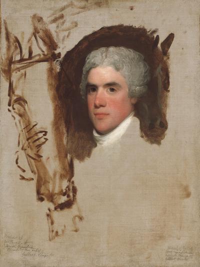 John Bill Ricketts, 1795-9-Gilbert Stuart-Giclee Print