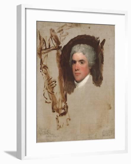 John Bill Ricketts, 1795-9-Gilbert Stuart-Framed Giclee Print