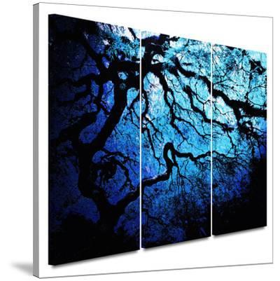 Japanese Ice Tree 3 piece gallery-wrapped canvas