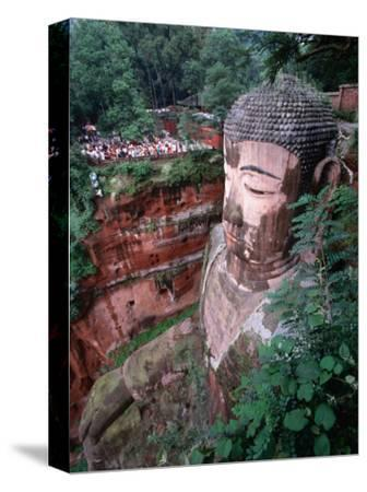 Grand Buddha, Carved into Cliff Face Leshan, Yunnan, China