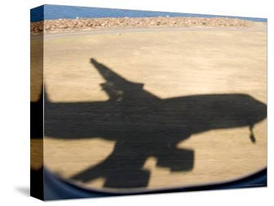 Shadow of Boeing 747 Landing at Sydney
