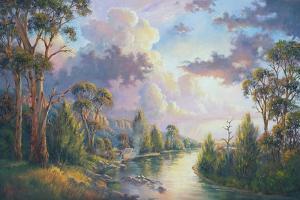 After the Rain - Kangaroo Valley by John Bradley