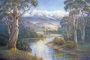 Autumn Snow - Murray Valley by John Bradley