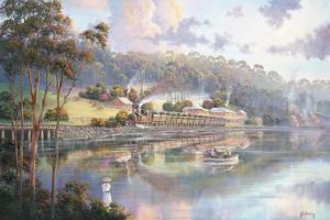 Early Days - Glenrock Lagoon by John Bradley