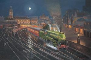 Evening Departure by John Bradley