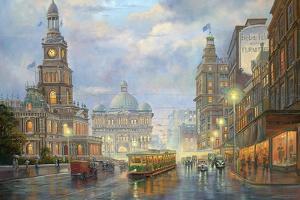 Evening Showers - Sydney by John Bradley