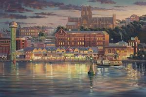 Harbour Lights by John Bradley