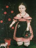 Little Girl in Lavender-John Bradley-Giclee Print