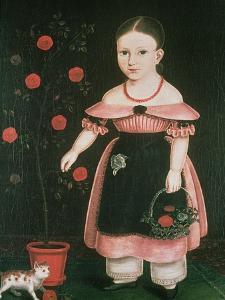 Little Girl in Lavender by John Bradley