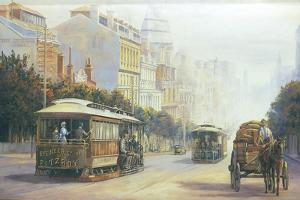 Melbourne Cable Cars by John Bradley