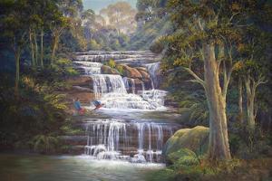 Queen's Cascades by John Bradley