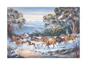 The Man from Snowy River by John Bradley