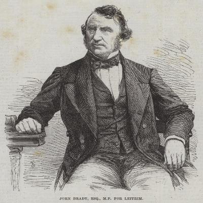 John Brady, Esquire, Mp for Leitrim--Giclee Print