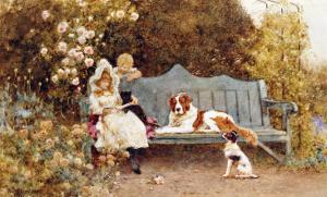 A Fairy Tale, 1895 by John Brett