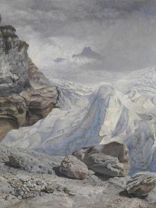 Glacier of Rosenlaui by John Brett