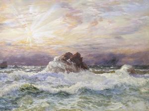 Glorious Sunset by John Brett