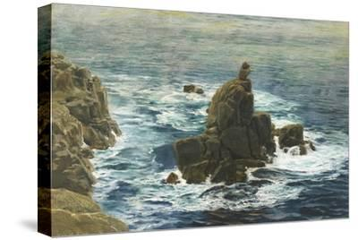 Land's End, 1872 (Oil on Board)