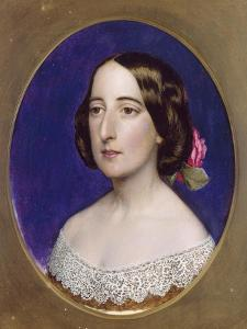 Mrs Coventry Patmore, Pre 1856 by John Brett