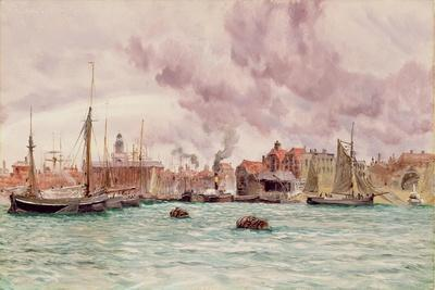 Portsmouth Harbour, 1884