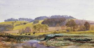 Springtime near Marden, Surrey, England by John Brett