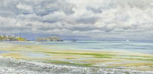 St. Catherine's Isle, 1879 by John Brett