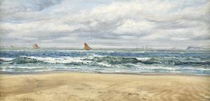 Tenby, 1879 by John Brett