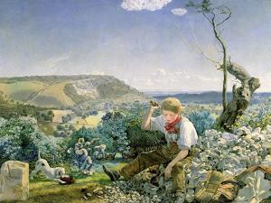 The Stonebreaker, C.1857-58 by John Brett