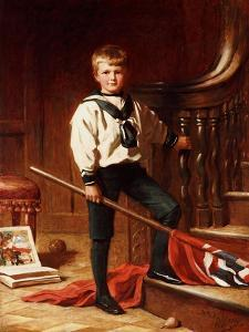 The Young Patriot, 1892 by John Brett