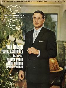 GQ Cover - March 1967 by John Bryson