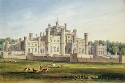 North East View of Lowther Castle, Westmoreland, Seat of the Earl of Lonsdale, 1814