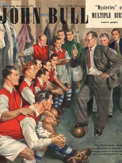 John Bull, Arsenal Football Team Changing Rooms Magazine, UK, 1947--Giclee Print