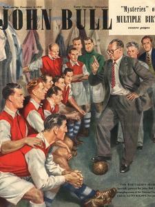 John Bull, Arsenal Football Team Changing Rooms Magazine, UK, 1947