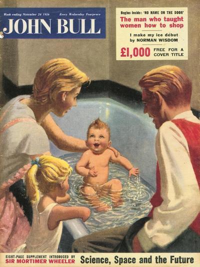 John Bull, Babies Baths Bathrooms Magazine, UK, 1950--Giclee Print