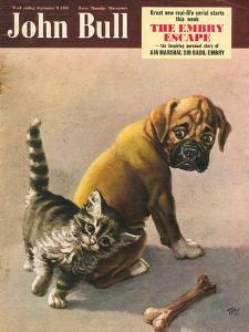 John Bull, Bones Magazine, UK, 1950
