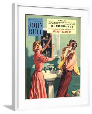 John Bull, Couples Bathrooms Magazine, UK, 1955--Framed Giclee Print