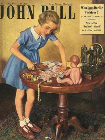 John Bull, Dressmaking Hobbies Magazine, UK, 1949