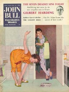 John Bull, Exercise Bathrooms Magazine, UK, 1950