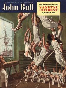 John Bull, Exercise Gyms Magazine, UK, 1950