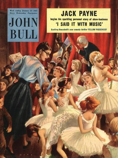 John Bull, Pantomimes School Plays Churches Hall Ballet Magazine, UK, 1950--Giclee Print