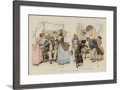 John Bull's Trip to the Continent--Framed Giclee Print
